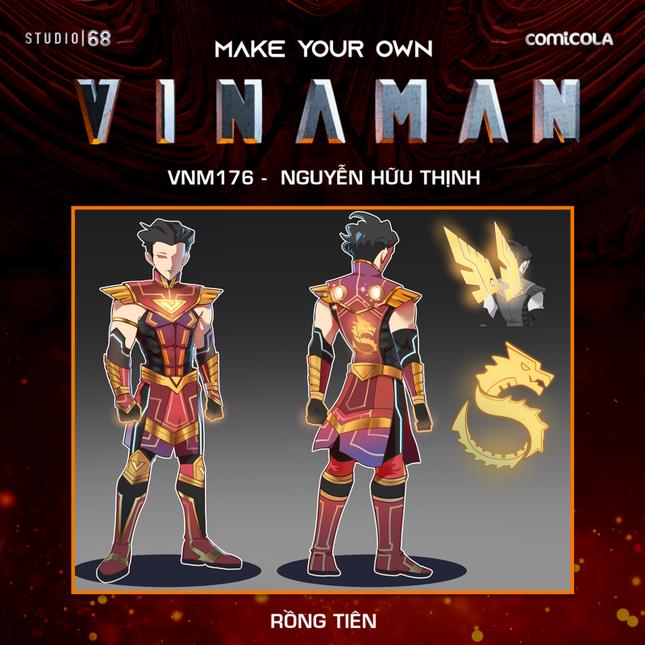 Top 25 thiết kế trang phục siêu anh hùng VINAMAN, thế này gia nhập Avengers cũng được nhỉ! ảnh 12