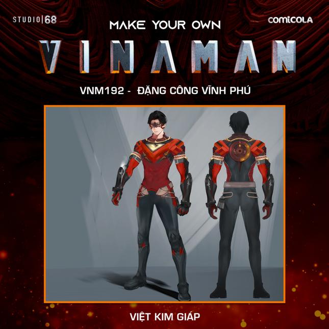 Top 25 thiết kế trang phục siêu anh hùng VINAMAN, thế này gia nhập Avengers cũng được nhỉ! ảnh 14