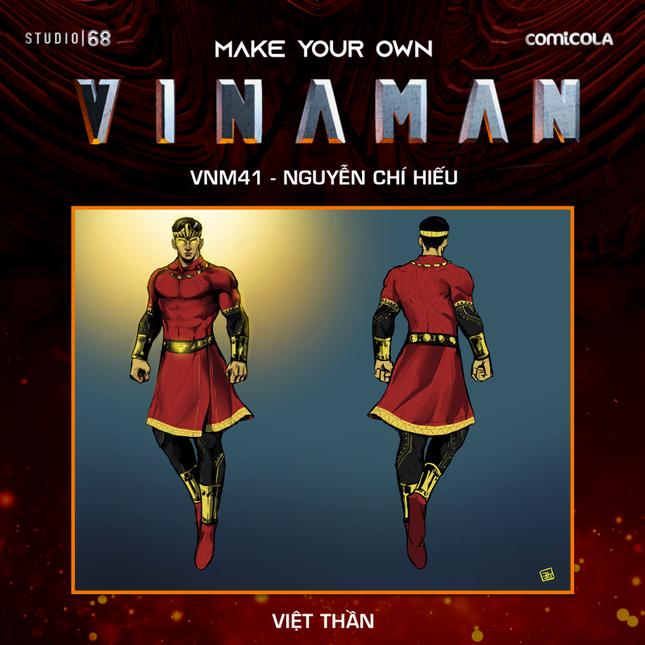 Top 25 thiết kế trang phục siêu anh hùng VINAMAN, thế này gia nhập Avengers cũng được nhỉ! ảnh 16