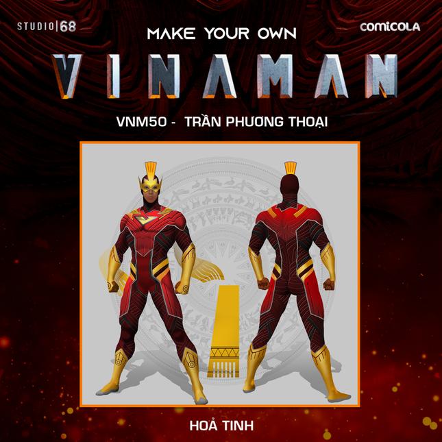 Top 25 thiết kế trang phục siêu anh hùng VINAMAN, thế này gia nhập Avengers cũng được nhỉ! ảnh 18