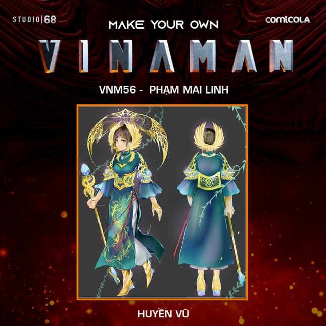 Top 25 thiết kế trang phục siêu anh hùng VINAMAN, thế này gia nhập Avengers cũng được nhỉ! ảnh 20