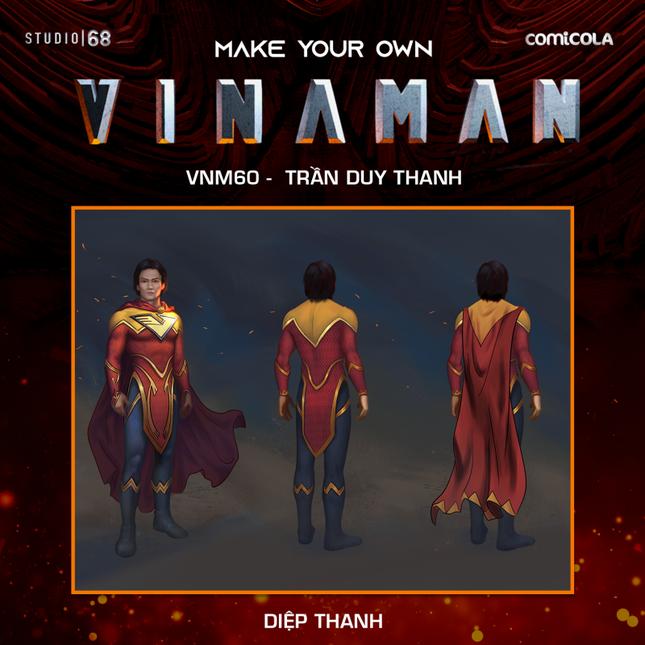 Top 25 thiết kế trang phục siêu anh hùng VINAMAN, thế này gia nhập Avengers cũng được nhỉ! ảnh 21