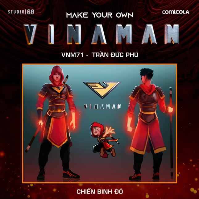 Top 25 thiết kế trang phục siêu anh hùng VINAMAN, thế này gia nhập Avengers cũng được nhỉ! ảnh 22