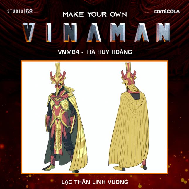 Top 25 thiết kế trang phục siêu anh hùng VINAMAN, thế này gia nhập Avengers cũng được nhỉ! ảnh 23