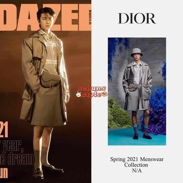 """Sehun (EXO) """"mở hàng"""" bìa tạp chí DAZED Hàn năm 2021 với chiếc quần soóc gây tranh cãi ảnh 4"""