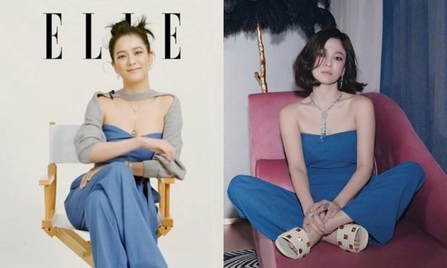 """Pha đụng hàng đẳng cấp của """"chị đại"""" Song Hye Kyo với các cô gái BLACKPINK ảnh 6"""
