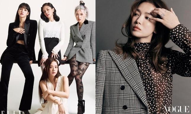 """Pha đụng hàng đẳng cấp của """"chị đại"""" Song Hye Kyo với các cô gái BLACKPINK ảnh 3"""