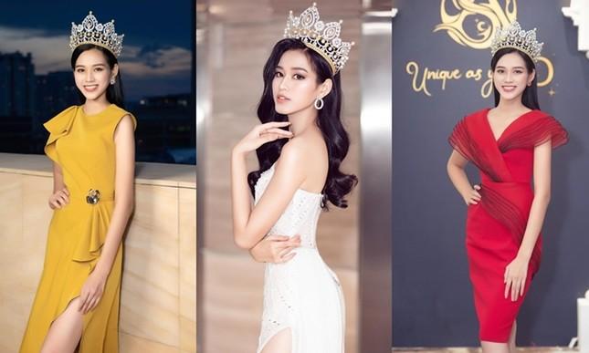 Loạt ảnh đội vương miện đẹp nhất của Hoa hậu Đỗ Thị Hà trong hơn 1 tháng sau đăng quang ảnh 2