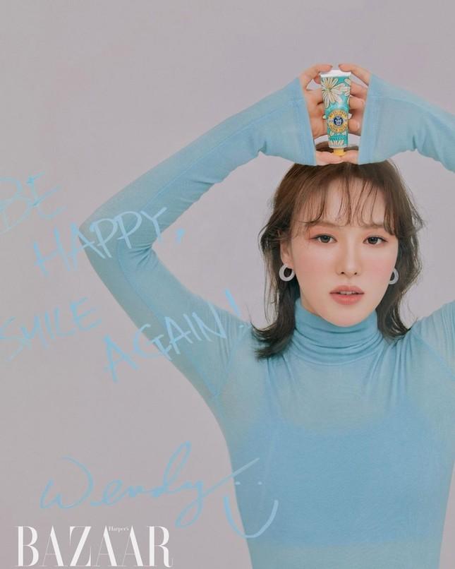 Wendy (Red Velvet) trở lại cực xinh với bộ ảnh mới, được netizen Hàn ví như tiên tử ảnh 2
