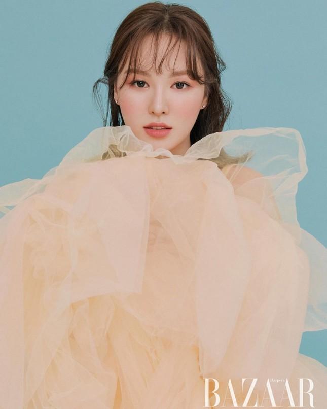 Wendy (Red Velvet) trở lại cực xinh với bộ ảnh mới, được netizen Hàn ví như tiên tử ảnh 1
