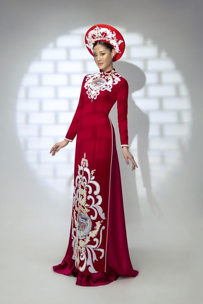 Hoa hậu Khánh Vân đẹp như công chúa bước ra từ truyện cổ tích trong bộ ảnh áo dài ảnh 7