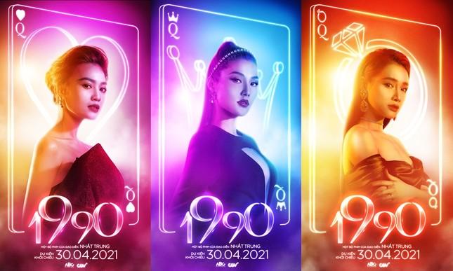 Tạo hình sang chảnh của 3 ngọc nữ hot nhất điện ảnh Việt: Nhã Phương, Lan Ngọc, Diễm My 9X trong phim mới ảnh 1