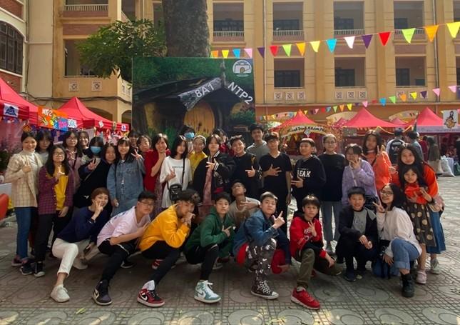 Teen THCS Nguyễn Tri Phương trải nghiệm vô vàn điều thú vị tại Lễ hội Vũ Khúc Xanh đón Tết ảnh 11