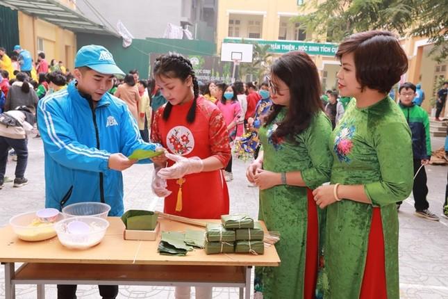 Teen THCS Nguyễn Tri Phương trải nghiệm vô vàn điều thú vị tại Lễ hội Vũ Khúc Xanh đón Tết ảnh 7