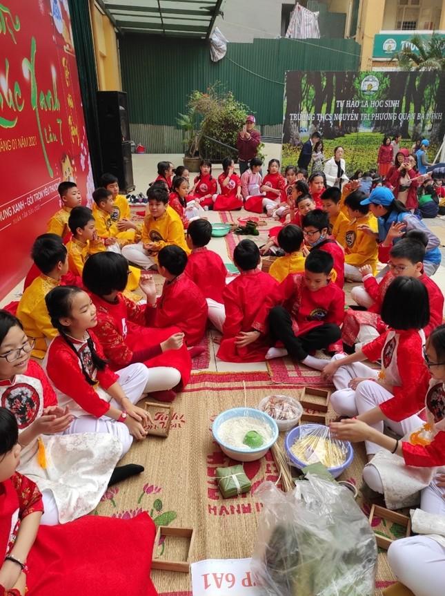 Teen THCS Nguyễn Tri Phương trải nghiệm vô vàn điều thú vị tại Lễ hội Vũ Khúc Xanh đón Tết ảnh 8