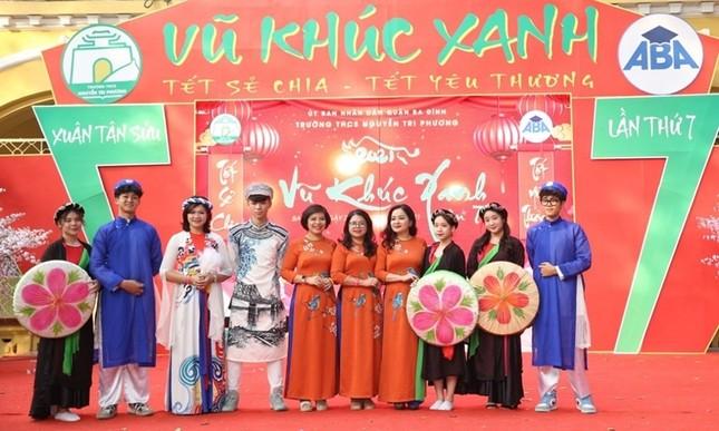 Teen THCS Nguyễn Tri Phương trải nghiệm vô vàn điều thú vị tại Lễ hội Vũ Khúc Xanh đón Tết ảnh 9
