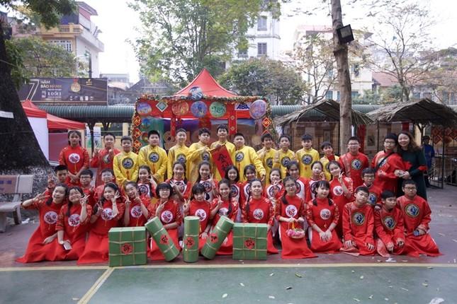 Teen THCS Nguyễn Tri Phương trải nghiệm vô vàn điều thú vị tại Lễ hội Vũ Khúc Xanh đón Tết ảnh 1