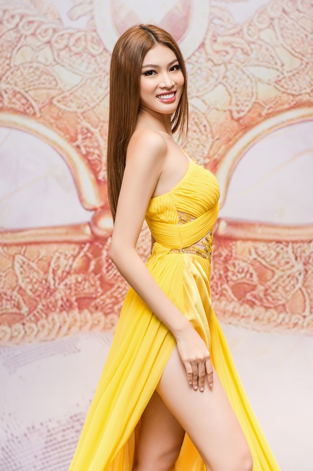 Á hậu Ngọc Thảo khoe trình catwalk đỉnh, sẵn sàng chinh chiến tại Miss Grand International ảnh 4