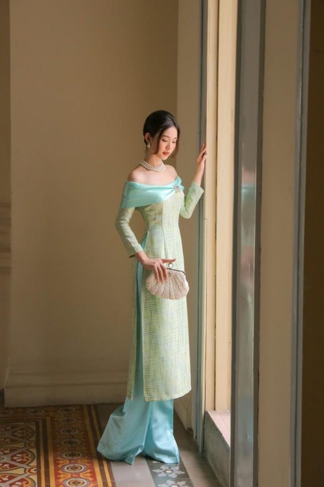 Dàn mỹ nhân Việt gợi ý cách diện áo dài Tết cực xinh để có những bức ảnh nghìn like ảnh 8