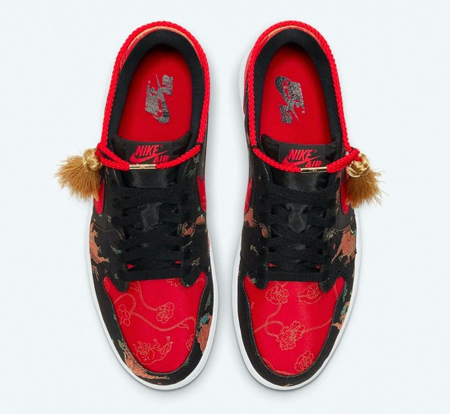 """Nike ra mắt đôi giày Air Jordan phiên bản Tết Tân Sửu khiến """"team cuồng giày"""" náo loạn ảnh 9"""