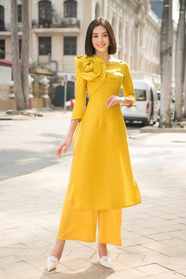 Dàn mỹ nhân Việt gợi ý cách diện áo dài Tết cực xinh để có những bức ảnh nghìn like ảnh 7