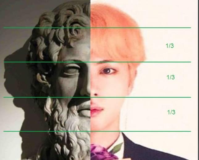"""Jin (BTS) xứng danh """"nam thần"""" với khuôn mặt có tỉ lệ y chang thần Zeus của thần thoại Hy Lạp ảnh 4"""