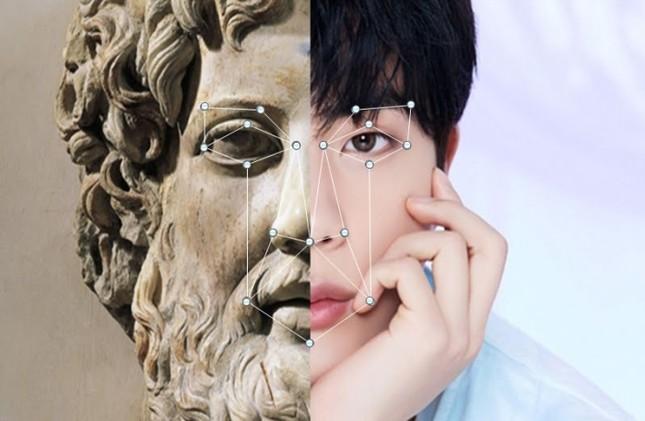 """Jin (BTS) xứng danh """"nam thần"""" với khuôn mặt có tỉ lệ y chang thần Zeus của thần thoại Hy Lạp ảnh 3"""