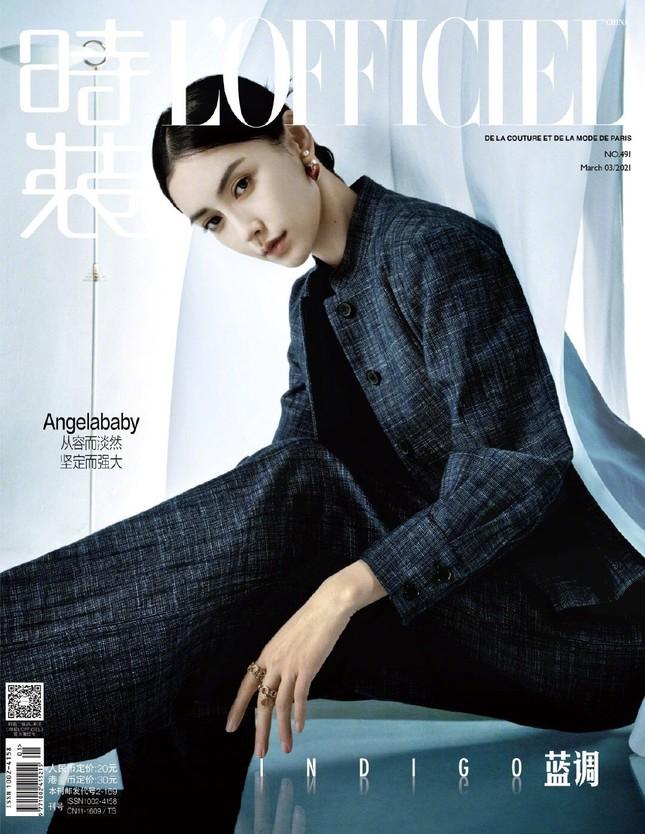 Angela Baby khoe thân hình siêu mỏng trong bộ ảnh chụp cho tạp chí L'OFFICIEL Trung ảnh 1