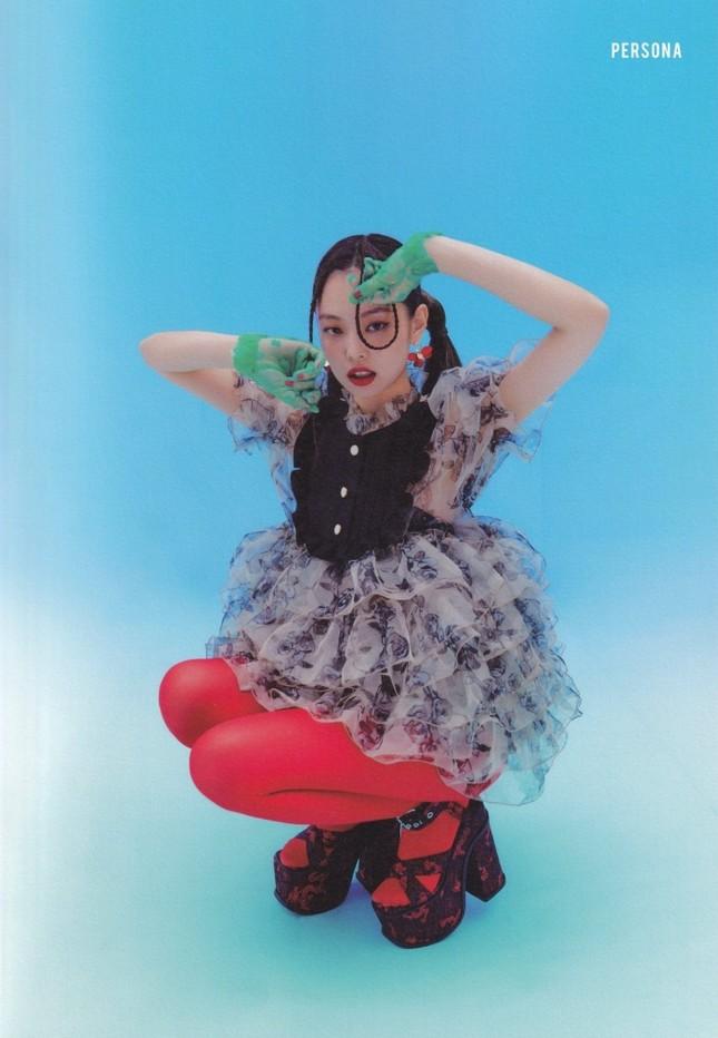 Đụng hàng váy búp bê, đẹp như Park Min Young vẫn phải chịu thua Jennie (BLACKPINK) ảnh 4