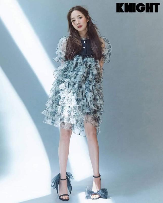 Đụng hàng váy búp bê, đẹp như Park Min Young vẫn phải chịu thua Jennie (BLACKPINK) ảnh 1