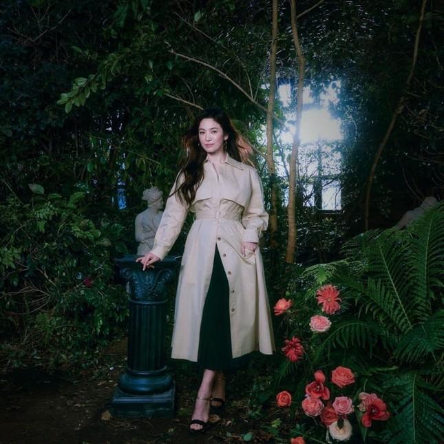 Song Hye Kyo gầy đi trông thấy trong bộ ảnh thời trang mới, liệu nhan sắc có giảm sút theo? ảnh 5