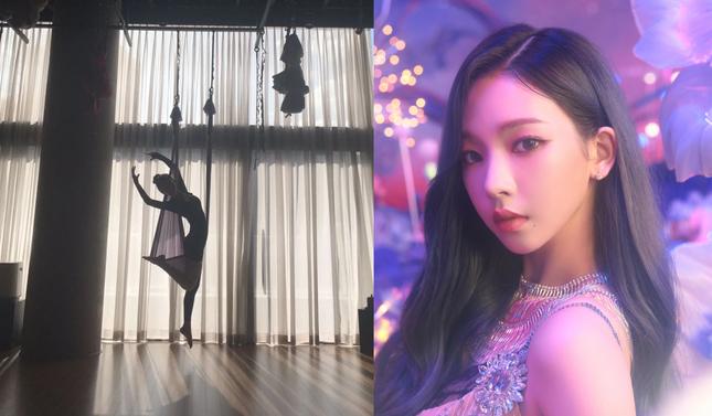 Karina (aespa) khoe body đẹp như Thủy thủ Mặt Trăng, netizen lấy ngay ảnh Jisoo (BLACKPINK) ra so sánh ảnh 1