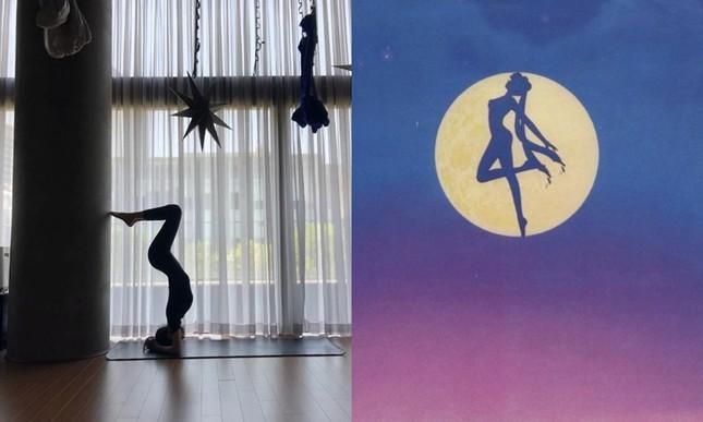 Karina (aespa) khoe body đẹp như Thủy thủ Mặt Trăng, netizen lấy ngay ảnh Jisoo (BLACKPINK) ra so sánh ảnh 5