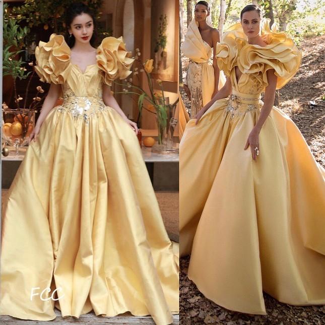 Netizen bất ngờ với những màn chỉnh sửa váy cực khéo léo từ dàn sao nữ trong Đêm hội Weibo ảnh 5
