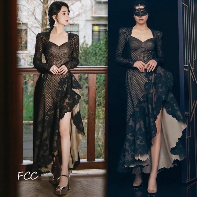 Netizen bất ngờ với những màn chỉnh sửa váy cực khéo léo từ dàn sao nữ trong Đêm hội Weibo ảnh 3