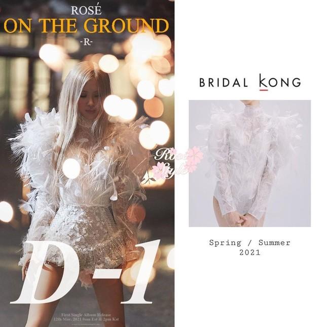 """""""Bóc giá"""" loạt váy của Rosé trong MV """"On The Ground"""", trang phục đắt giá nhất cực bất ngờ ảnh 2"""