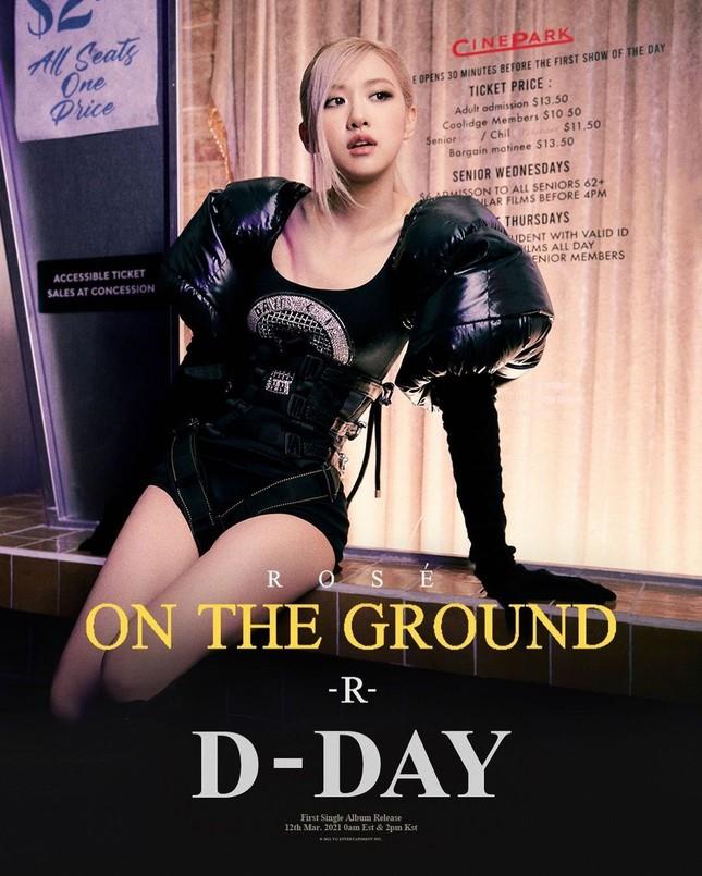 """Rosé (BLACKPINK) tiết lộ lý do vì sao """"On The Ground"""" là ca khúc hoàn toàn bằng tiếng Anh ảnh 2"""