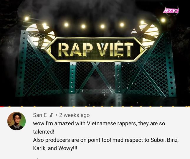 """Các HLV """"Rap Việt"""" nhận được lời khen từ nhà sản xuất chương trình """"Show Me The Money"""" ảnh 1"""