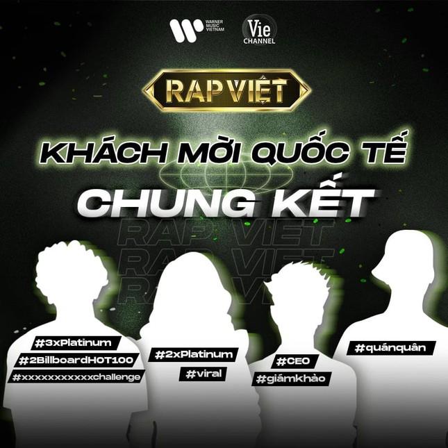 """Chung kết Rap Việt: Xôn xao dàn sao quốc tế làm khách mời, MIN úp mở sẽ """"on stage"""" ảnh 2"""