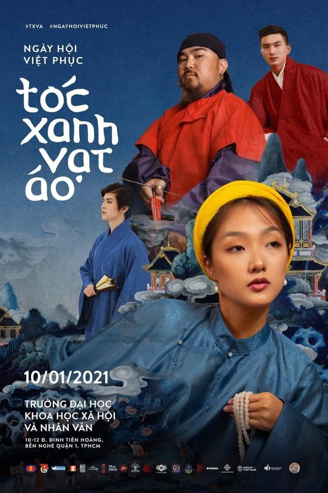"""Đạo diễn Kawaii Tuấn Anh ấm lòng trước giá trị văn hóa Việt ở ngày hội """"Tóc Xanh Vạt Áo"""" ảnh 1"""