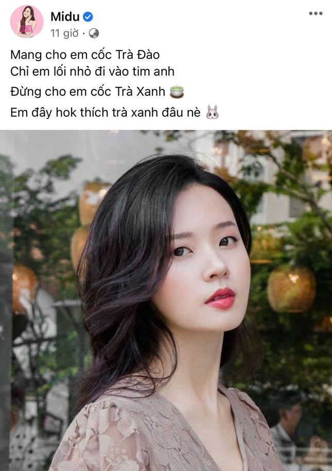 """Chỉ sau một ngày, cụm từ """"trà xanh"""" bỗng thành trend trên status của sao Việt ảnh 3"""