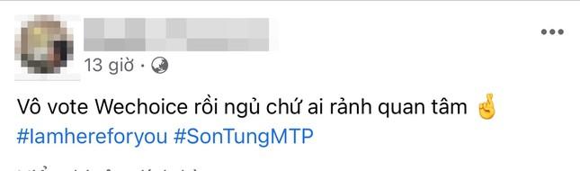 Admin của loạt fanpage lớn lập hashtag #ImHereForYou ra sức bảo vệ Sơn Tùng M-TP ảnh 2