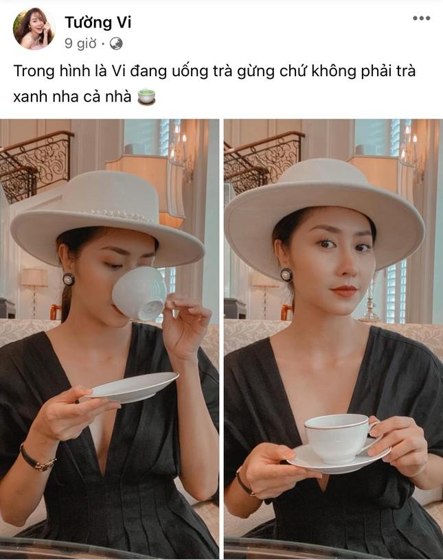 """Chỉ sau một ngày, cụm từ """"trà xanh"""" bỗng thành trend trên status của sao Việt ảnh 4"""