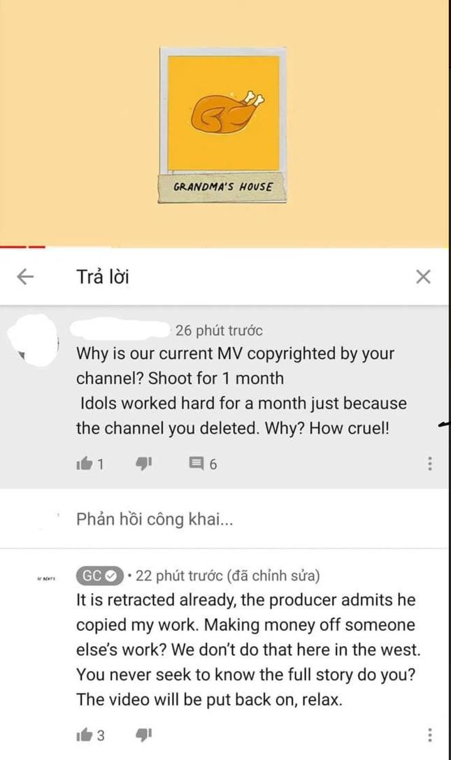 """Kênh đánh bản quyền MV của Sơn Tùng khẳng định: """"Producer thừa nhận đã copy ca khúc của chúng tôi"""" ảnh 1"""
