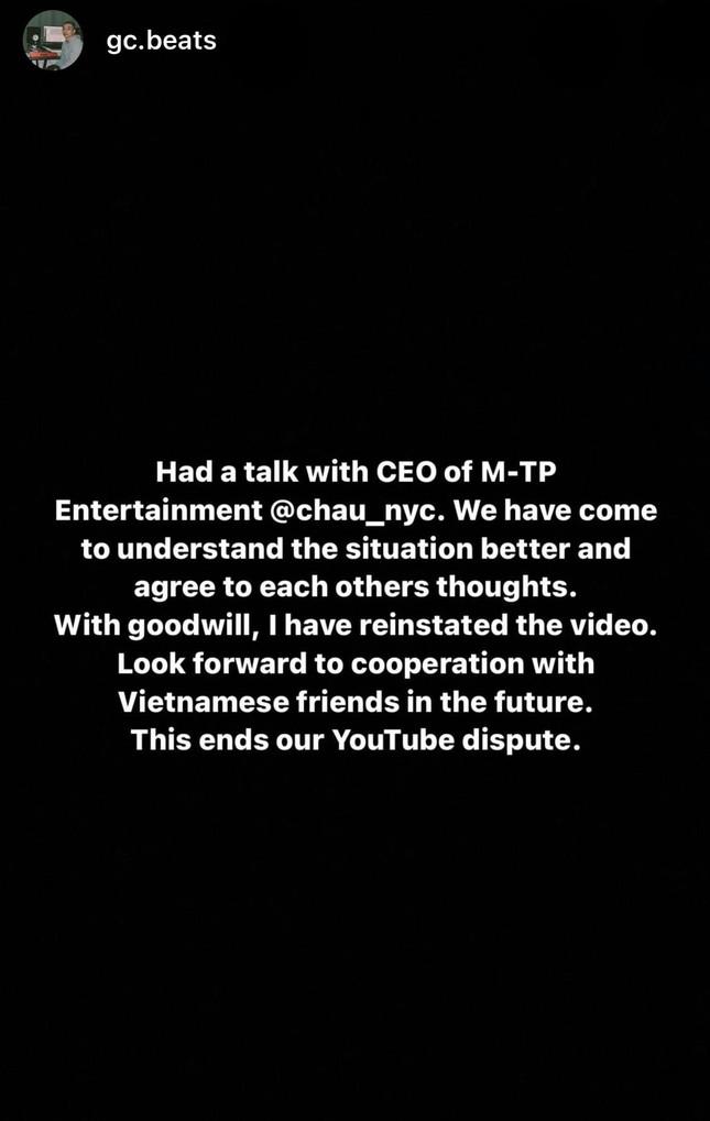 Sau tất cả, Sơn Tùng M-TP và producer GC sẽ có màn hợp tác đáng mong đợi trong tương lai? ảnh 4
