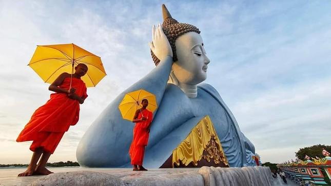 """Choáng ngợp trước vẻ đẹp """"vạn người mê"""" của ngôi chùa Khmer nổi tiếng tại Sóc Trăng ảnh 6"""