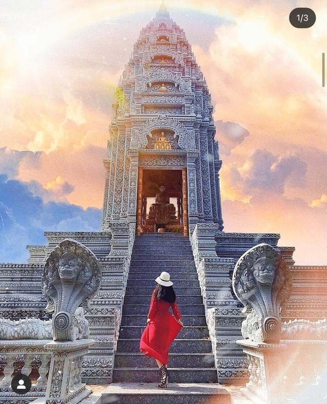 """Choáng ngợp trước vẻ đẹp """"vạn người mê"""" của ngôi chùa Khmer nổi tiếng tại Sóc Trăng ảnh 4"""