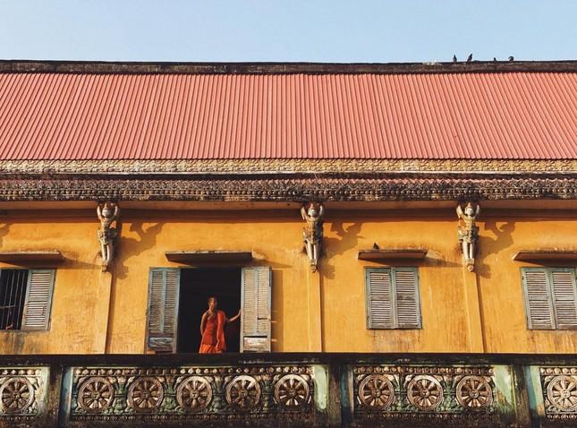 """Choáng ngợp trước vẻ đẹp """"vạn người mê"""" của ngôi chùa Khmer nổi tiếng tại Sóc Trăng ảnh 2"""