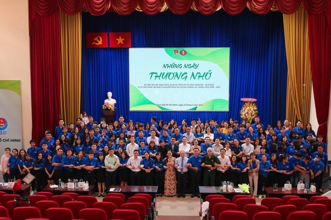 Sinh viên Nhân văn hào hứng tham gia chuỗi hoạt động kỷ niệm 90 năm thành lập Đoàn ảnh 4