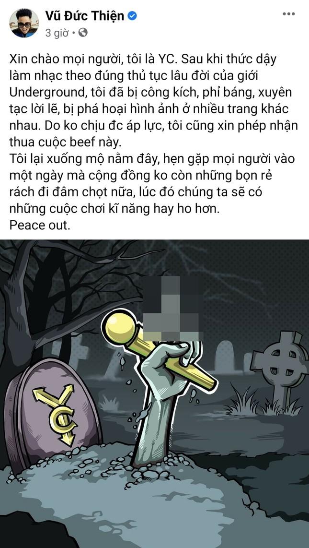 """Kết thúc màn """"rap dizz"""", Rhymastic soạn hẳn bộ quy tắc ứng xử dành cho rapper Việt ảnh 3"""